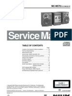 Phillips Manual Servicio Mc-m570