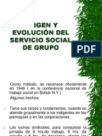 Origen Servicio Social de Grupo