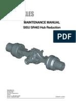 Maintenance Manual Sisu Sr 463 Hub Reduction