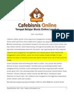 Panduan Lengkap Belajar Bisnis Online Dan Blog