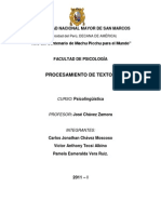 monografia psicolinguistica