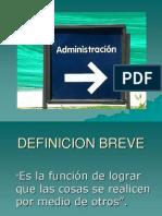 Administracion Greco Latina
