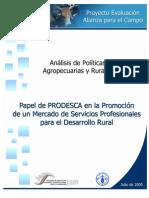 12 Prodesca y El Mercado de Servicios Profesionales