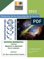 COMO SE FORMÓ LA TIERRA por Luis Aké Díaz