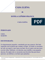 Casa llena - Estela Leñero