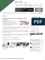Lanzan herramienta local de investigación virtual - NotiCel™