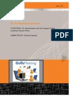 c  narayan evaluation report- gtm