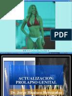 PROLAPSO GENITAL- Dr. Jorge Huatuco Hernandez