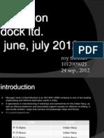 Mazagon Dock LTD-PPT