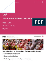 The Indian Bollywood Industry 2012