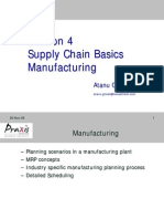 Supply Chain Basics Manufacturing