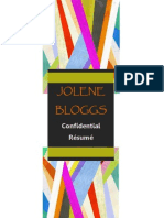 Bloggs Jolene Resume
