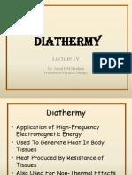 4 Diathermy Swd Mwd