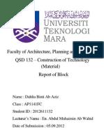 Material Blockwork