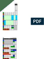 Class Schedule Sem I 2012_2013