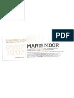 Marie Möör sur websynradio