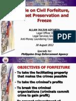 Forfeiture Proceedings PDEA
