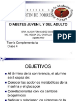 Diabetes Juvenil y Del Adulto