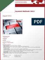 Brochure & Order Form_Global Online Payment Methods 2012_by yStats.com
