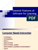 CBI 3 (General Features Ofsoftwarei)