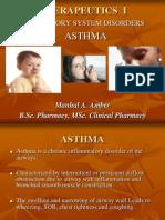 Therapeutics i Asthma