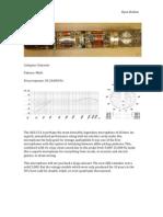 Mic Data Sheets 3