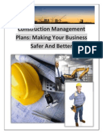 Construction Management Plans
