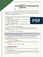 Processos Morfologicos de Formacao de Palavras FInf