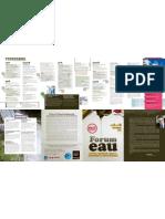 Programme du forum Eau à Poitiers, du 8 au 14 octobre 2012