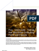 Client-side trends impacting growth aspirations