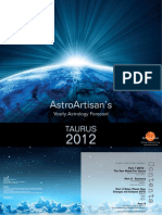 Taurus 2012 AstroArtisans Yearly Forecast