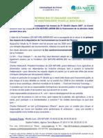 CP Léa Nature étude OGM Tous cobayes