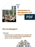 Intro to Mgt & Org