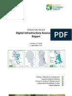 Lismore City Council Digital Infrastructure Assessment Report - September 2012