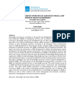 ROLE OF KNOWLEDGE SOURCING IN ALBANIAN SMALL AND MEDIUM-SIZED ENTERPRISES