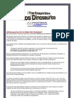 Tres Ensayos Sobre Los Dinosaurios - Immanuel Velikovsky