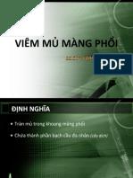 Viem Mu Mang Phoi