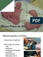 Exame Físico do RN