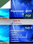 Treinamento_ADVPL Avançado_aula 01