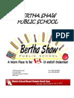 bsps student handbook 2012-2013