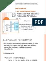 Paginacion por demanda y anticipada