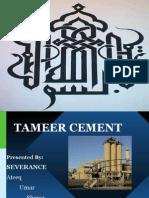 Tameer Cement