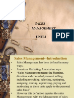 Sales Chapter-I Ppt