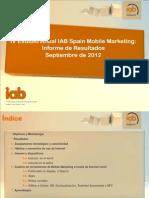 IV Estudio Anual IAB Spain Mobile Marketing
