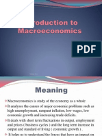 Chapter 8 Introduction to Macroeconomics