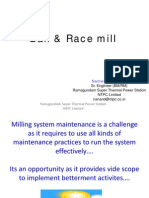 Ball and Race Mill
