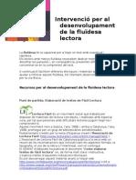 4 Intervenció per al desenvolupament de la fluïdesa lector1