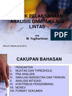 Analisis Dampak Lalu Lintas 2012