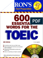 600 necessary word for toeic edition 3