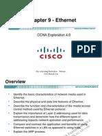 CCNA Exp1 - Chapter09 - Ethernet